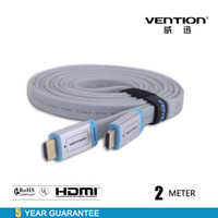 Wholesale Hdmi cable M classic blue braided flat HDMI cable Computer and TV cable V P HD Ethernet D Ready HDTV HQ Cable