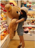 Wholesale Details about San x Rilakkuma Relax Bear Soft cm Pillow Plush Cute Doll Toy cotton