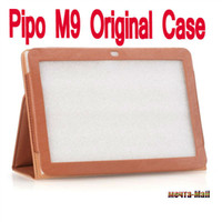 7'' For Apple For Ipad 2/3 2013 Cheapest Original PIPO M9 3GWifi leather case ,Pipo M9 case,Pipo m9 cover In Stock Drop shipping brown black
