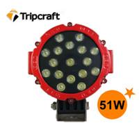 60 Degree light duty truck - High power V V W CREE OFFROAD LED Work LIGHT Truck bus Heavy Duty Boat Driving Light