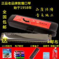 Wholesale 24 c polysyllabic child adult harmonica electronic qin cloth necklace harmonica