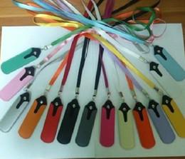 Promotion porter coloré coloré cuir Pu Ego lanière de transport poche Pouch Neck Cover Rope Sling Case pour Ego cigarette électronique MT 3 v6 prix d'usine