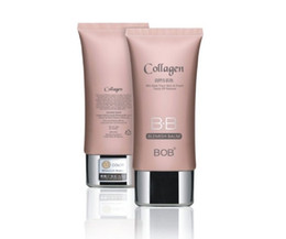 Wholesale Hot BOB Collagen Smooth Natural BB Cream Isolation Block Defect Naked Makeup g Blemish Balm Colors Skin Care