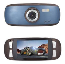 H200 Negro Box 2.7 & amp; quot ; HD 1080P del coche del vehículo DVR grabadora de vídeo Cámara Dash Cam visión nocturna G-sensor viajando datos desde cámaras de guión recuadro negro proveedores