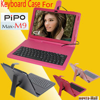 7'' For Apple For Ipad 2/3 Free Shipping Original Keyboard case for 10.1 Inch Pipo m9 wifi 3g version tablet pc with gifts