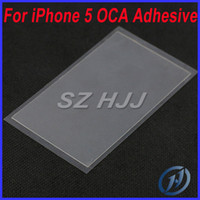 Wholesale OCA Optical Clear Adhesive For Apple iPhone S S C LCD Digitizer Glass OCA Adhesive DHL