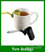 Wholesale Hot Sales L H S Clip on Tea Strainer Lifestyles Of Health Colander Rim Teacup Gifts