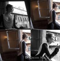 2014 Inbal Dror evening gowns Prom Dresses Elegant Black Bac...