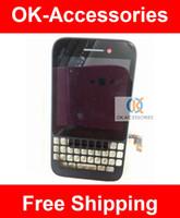 Wholesale Black and White Color LCD Display Touch Screen Frame Full Digitizer Assembly For Blackberry Q5 PC