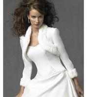 Faux fur jackets Цены-длинные рукава Леди Кот обруча шерсти Faux Свадьба болеро пожимания плечами украл куртка Люкс шаль 05