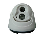 Wholesale SECURITY CCTV CMOS TVL WITH PC ARRAY LED INDOOR IR DOME CAMERA WITH WIDE ANGLE LENS
