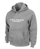 Wholesale Grey Fashion Falcon Hoodies New College Sweat Shirts Mens Athletic Hoodies with White Letters Fleece Hoodies Large Size Hoodies