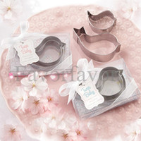 Silver baby mammas - Boxes Baby Pink Blue Tweet Baby Mamma and Baby Bird Stainless Steel Cookie Cutters Baby Favors Party Favors
