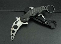 Wholesale Fox Claw Karambit Training Folding blade knife Outdoor gear EDC Pocket Knife hunting knife camping knife knives