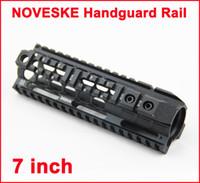 Handguard Rails aeg rail - NOVESKE inch Handguard Rail System For AEG M4 M16 Black