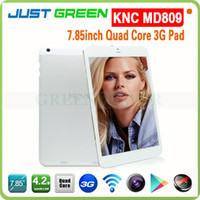 Wholesale 7 Inch KNC MD809 Android MTK8389 Quad Core GHz GB Ram GB Rom G Phone Tablet with MP MP Camera GPS Bluetooth
