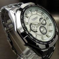 Wholesale S5Q New Luxury Elegant Quality Sport Men Fashion Stainless Steel Wrist Watch HW199 AAACKG