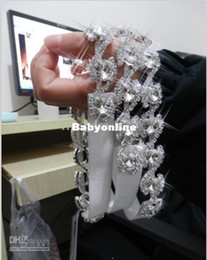 Wholesale Real Retail Women Sexy Crystal Lingerie Accessory Wedding Accessory Bridal Leg Garter