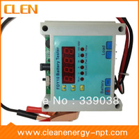 Wholesale Battery Discharger and Capacity Tester V V A A showing real time battery voltage current power AH and total time