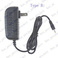 Wholesale US Power Adapter AC Wall Charger mm mm V A for Android Tablet PC