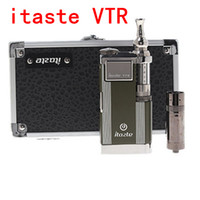 Wholesale New Innokin itaste VTR E cigarette kit Model ML iClear S atomizer Clearomizer vaporizer iTaste VTR ego kit DHL Free