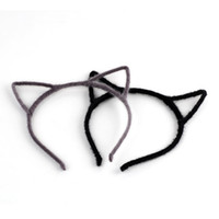Headbands mix color fashion NEW Arrival Free Shipping Sweet Women's Accessory Cute Cosplay Party Lovely Cat Ear Hair Band Headband Casual Hairwear