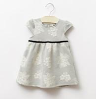baby girl infant toddler flower dress floral dress crochet c...
