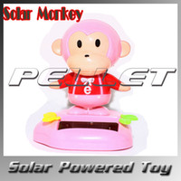2-4 Years Multicolor Plastic Solar Power MONKEY TOY Nohohon Hidamari No Tami Bobble Head Flip Flap Kids Fun Gift 400pcs by DHL Fedex free shipping