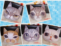 mixed 4 colors  best check card - 2015 Fashion D cat cathead purse meow star people coin key Meow star people bag cats cartoon handbag wallets holders best gift colors