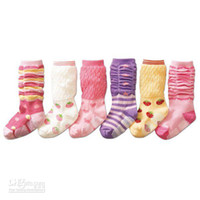 Wholesale pairs princess baby girls ballet socks Dance sox anti skidding ye