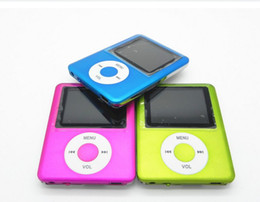 Wholesale 50 MP4 Music Playes Inch Screen MP4 MP3 Video Player E Book Speaker New Micro SD Card hin long playback AAA