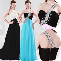 Grace Karin 3 Colors Freeshipping One Shoulder Evening Dress...