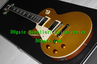 Wholesale Custom Shop Very Beauty Left Hand Les Standard Goldtop Gold top Electric Guitar Top High Quality Bestselling Guitar