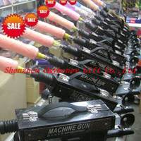 Wholesale 2014 New Adjustable speeds sex machine gun auto sex machine for woman dildo vagina toy speed times minute