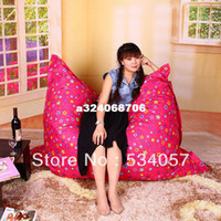 Wholesale Many Colors Garden Sofa Bed Lazy Bone Bean Bag Chair Covers Oxford CM Modern Furniture