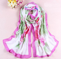 Wholesale 20pcs Hot High quality Rose red Korean women s fashion long scarf Spring and summer beach scarves colors to choose from