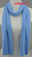scarf material - 23 color polyester scarf pendant scarves cloth rectangular scarf scarf jewelry scarf FEDEX shipping materials pure color scarf