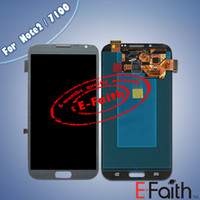 note 2 lcd screen - For Samsung Galaxy Note N7100 Grey Touch LCD Screen Digitizer Replacement free DHL shipping