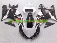 Wholesale 7gifts black white for GSXR600 GSXR750 GSXR fairing kit E32