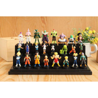 Wholesale Dragon Ball Z PVC Action Figures Goku Cell Hercule Videl Decoration Figure Dolls set
