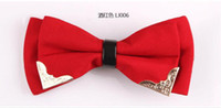 Wholesale Mens Womens Unisex Floral Star Check Polka solid Print Bowtie Neckwear Bow Tie style available
