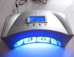Wholesale 2014 Newest w Nail Dryer Nail CCFL LED Lamp White Silvery Black With CE and ROHS Certificate w LED w CCFL