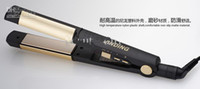 Wholesale Hair Beauty Hair Curler and Straightener in Titanium Plate Ceramic Coating Curler Iron JVANFAQI001