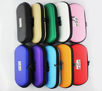 Wholesale Multi Color eGo Zipper Case Leather Bag Case Box case ego For Electronic Cigarette Starter Kit Small Medium Large Size DHL Free