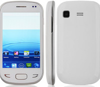 India Android Dual Sim Card Wholesale - Best Sales Cheap Tengda X5292 Smartphone Android 4.1 OS SC6820 1.0GHz 3.5 Inch 2.0MP Camera Capacitive Screen- White Cell Phone