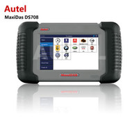 Wholesale Original Auto Scnner Car Scan Tool Autel MaxiDAS DS708 Code Reader DS Free online update