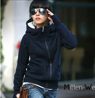 Wholesale Fashion Womens New Trendy Hoodie Casual Thin Coat Outerwear Spring Autumn Color Hot