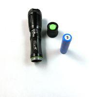 Wholesale New LED Flashlight Cree XPG R5 Mode Adjustable Focus Zoom LM Led Flashlight Torch Portable Lighting DHL Seven eleven