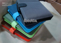 Wholesale New Mesh PU Leather USB Keyboard Cover Case Via quot inch Tablet Android PC MID Q88