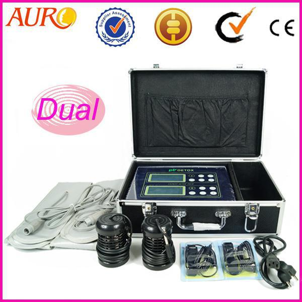 New arrival au 08 home foot spa ion cleanse detox machine for 2nd hand beauty salon equipment
